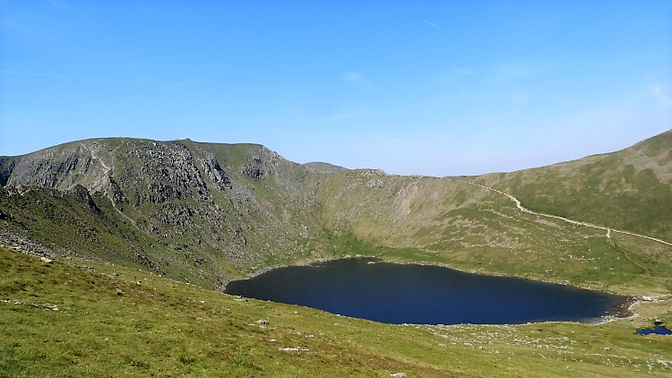 Helvellyn, Swirral Edge and Red Tarn