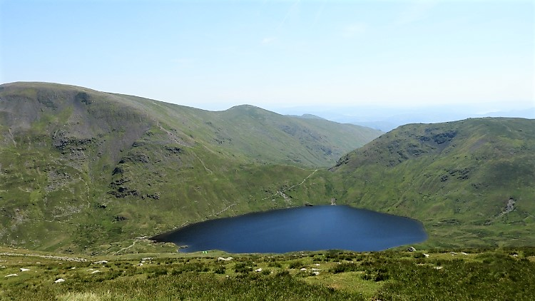 Grisedale Tarn, Fairfield, Great Rigg, Seat Sandal