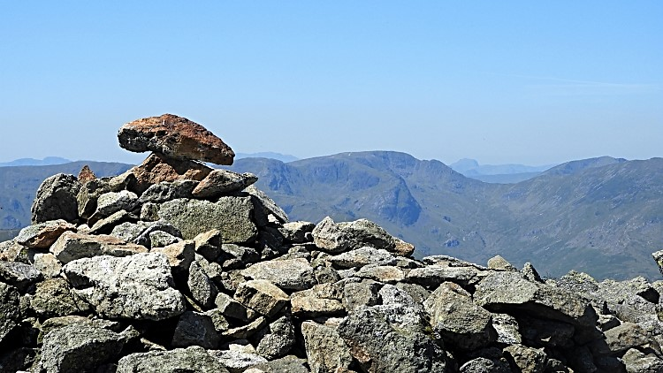 High Raise view to Scafells, Fairfield & Great Gable