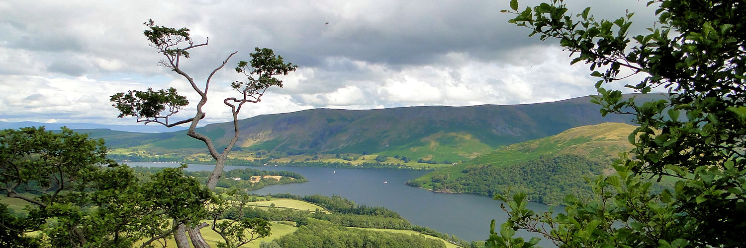 Ullswater as seen from Gowbarrow Fell