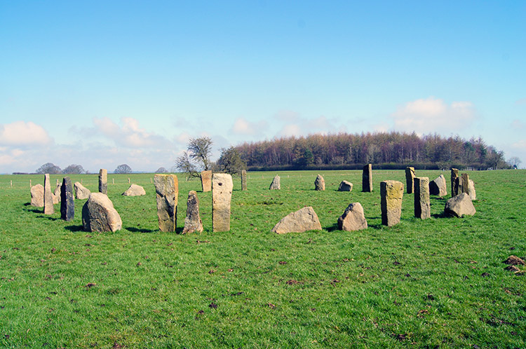 Not such an old stone circle