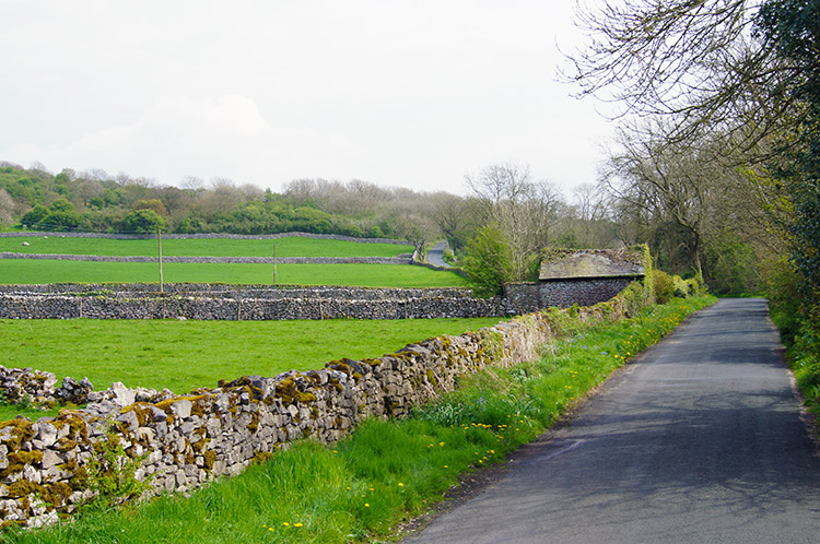 Lancashire Coastal Way near Scar Close