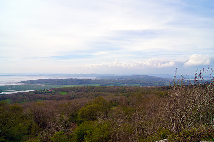 Arnside and Silverdale as seen from Warton Crag