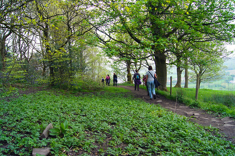 Ramblers at Whalley Banks
