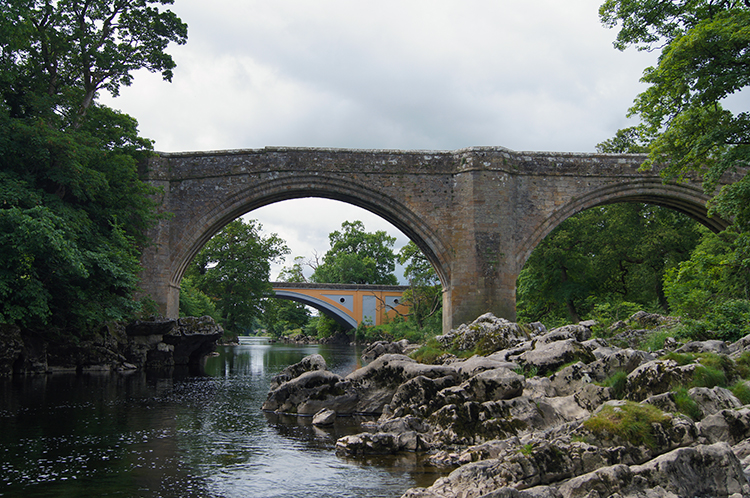 The two bridges of Kirkby Lonsdale