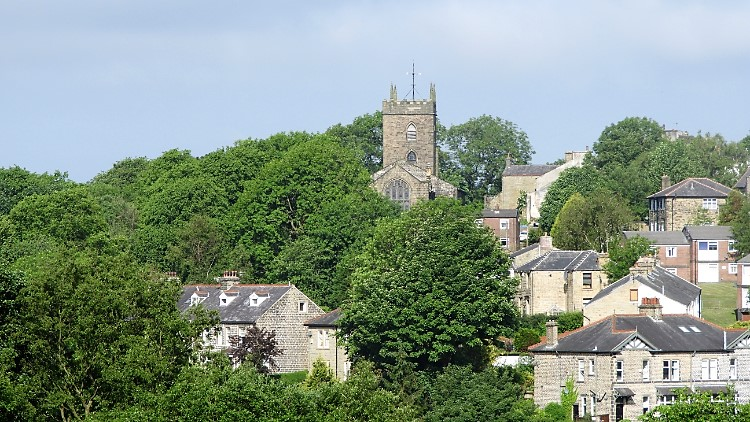 Newchurch as seen from Edgeside