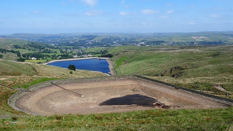 Cowpe Reservoir and Cragg High Level Tank