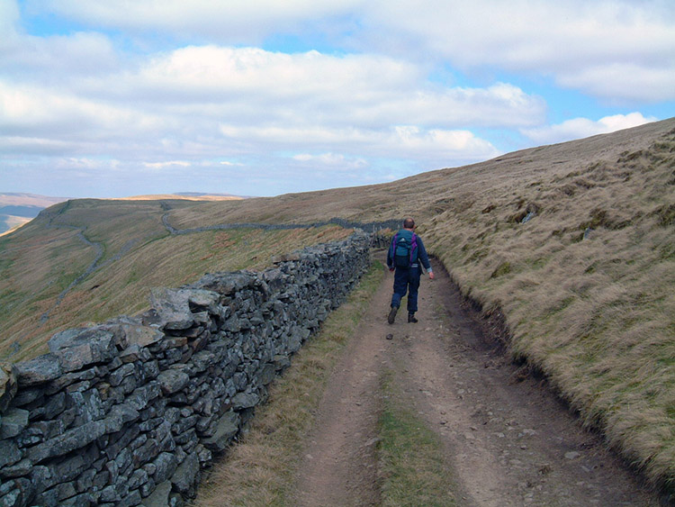Following the Pennine Way