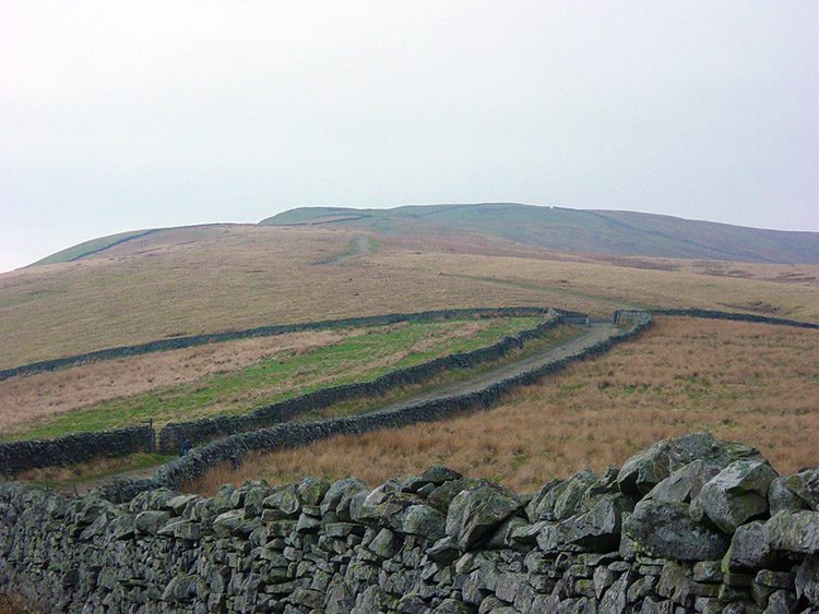 The way from Wensleydale to Great Shunner Fell