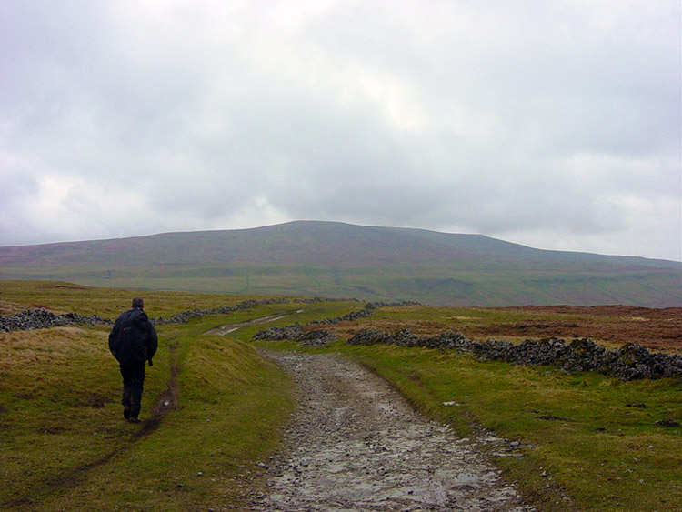 Buckden Pike ahead but not in our plans today