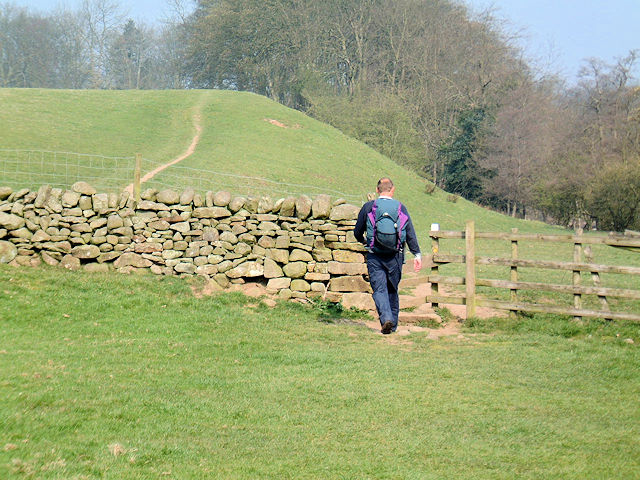 Walking Englishman on the Dales Way