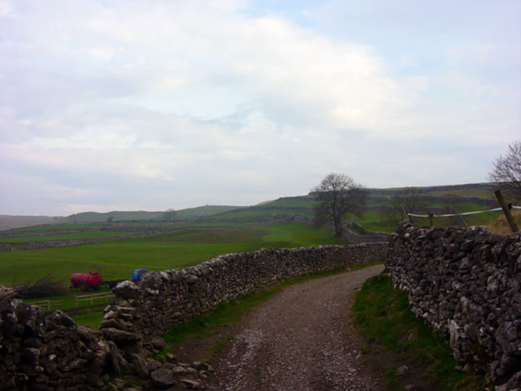 Setting off from Grassington