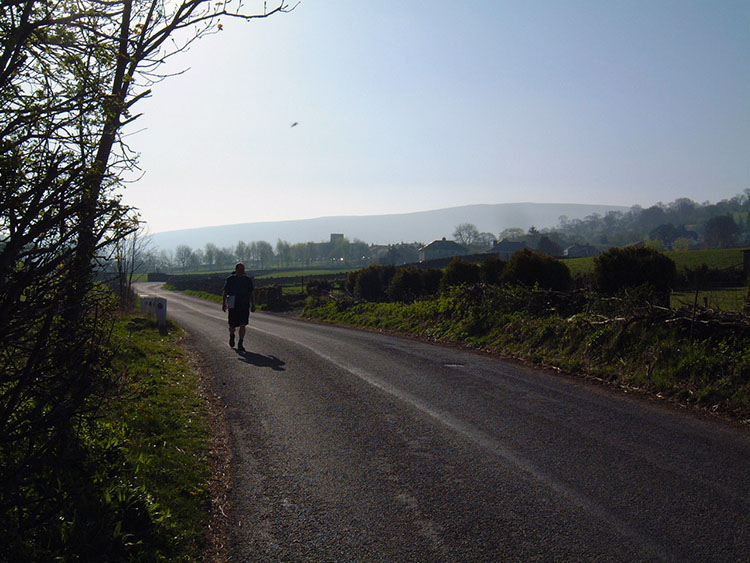 The road from Dent