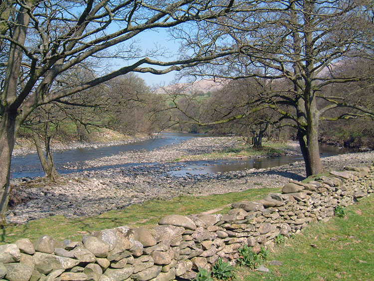 River Lune near Crook of Lune