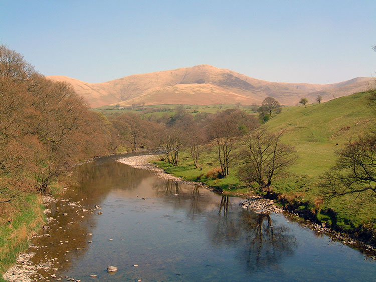 River Lune and Howgill Fells