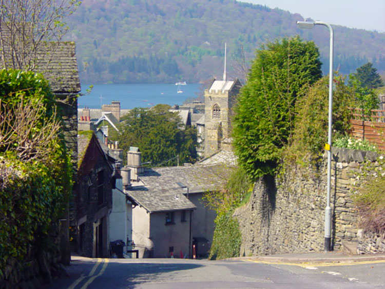 Into Bowness on Windermere