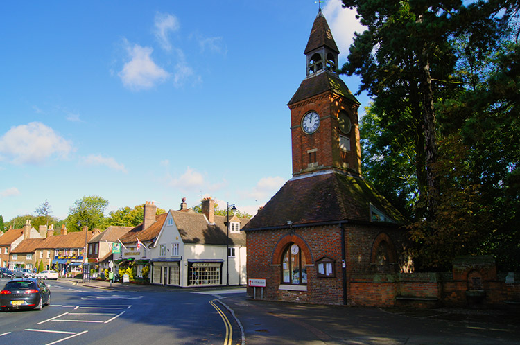 Wendover Clock Tower and home of Tourist Information