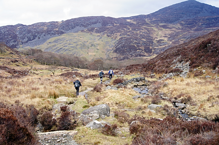 Following the Roman Steps to Rhinog Fawr