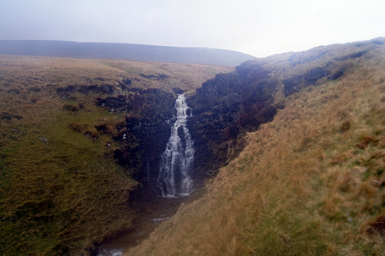 Waterfall on Afon Tawe