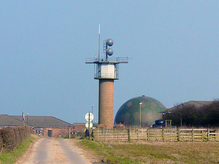 RAF Station at Staxton Brow