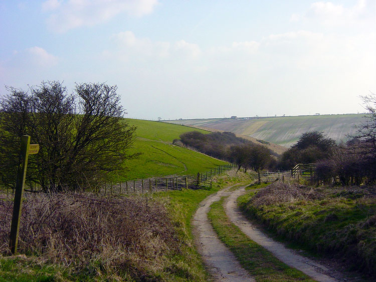 Path to Staxton Wold