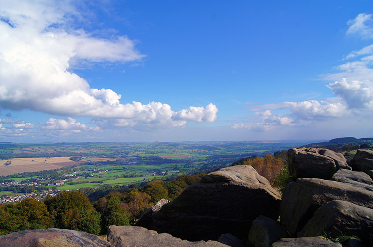 View to Wharfedale from the Chevin