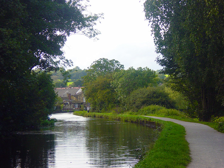 Following the towpath to Rodley
