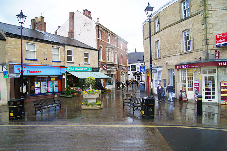 Wetherby town centre
