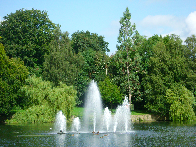 Water Fountain in Upper Lake