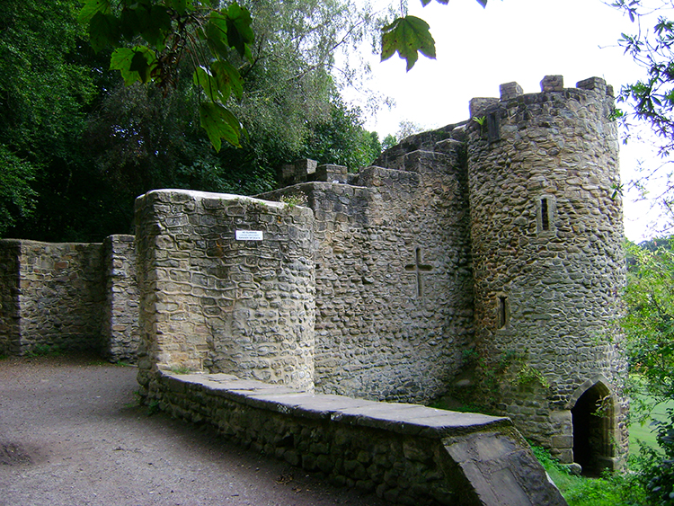 The Castle in Roundhay Park