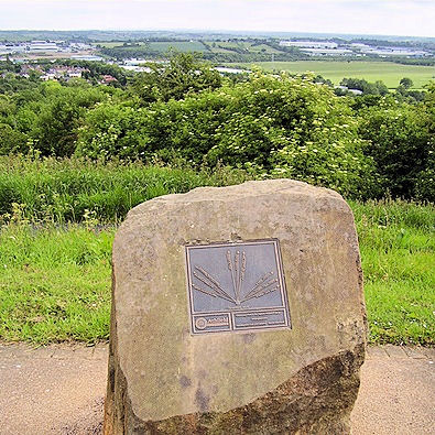 Strawberry Bank is the highest natural point in Nottinghamshire