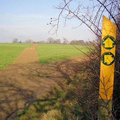 Well defined Leicestershire path