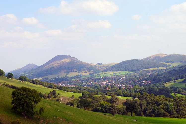 Caer Caradoc comes into view once more
