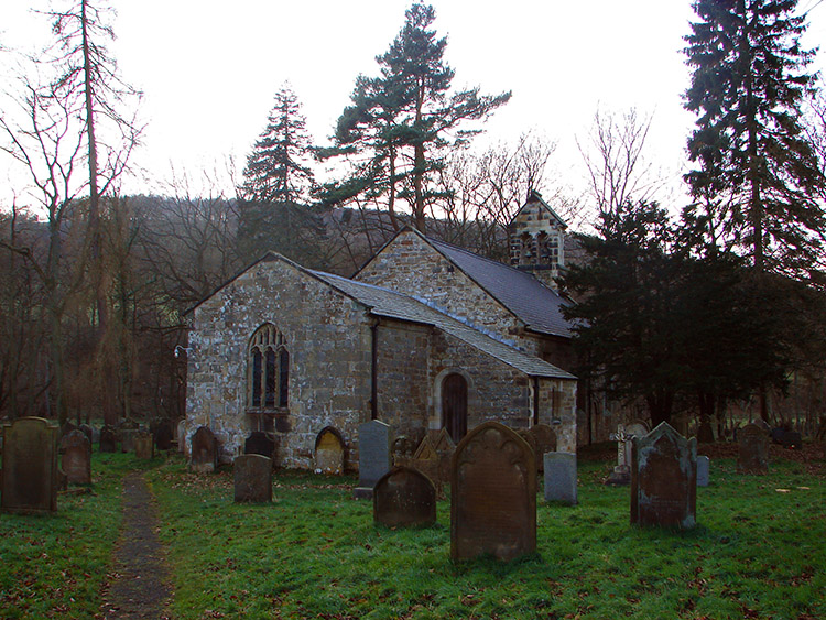 The church at Dalicar Bridge