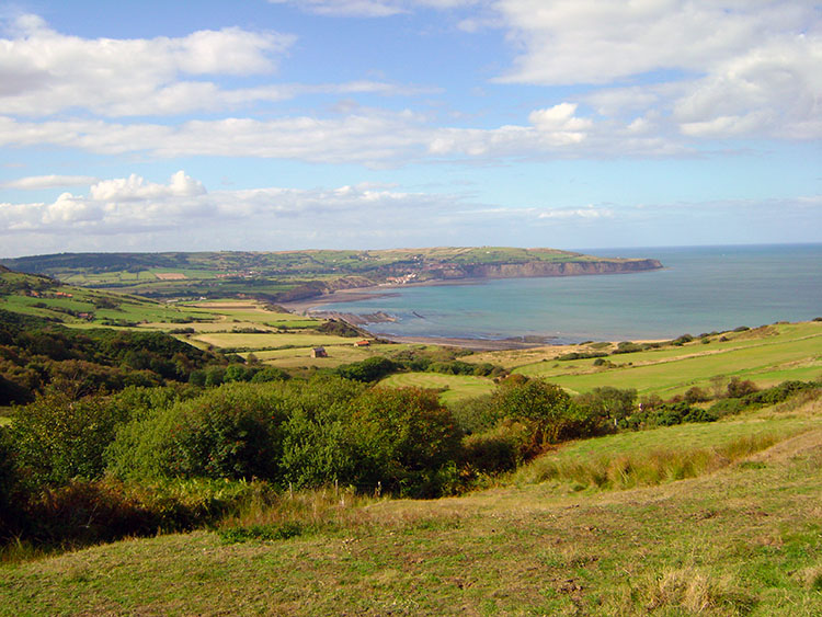 A brilliant view of Robin Hood's Bay