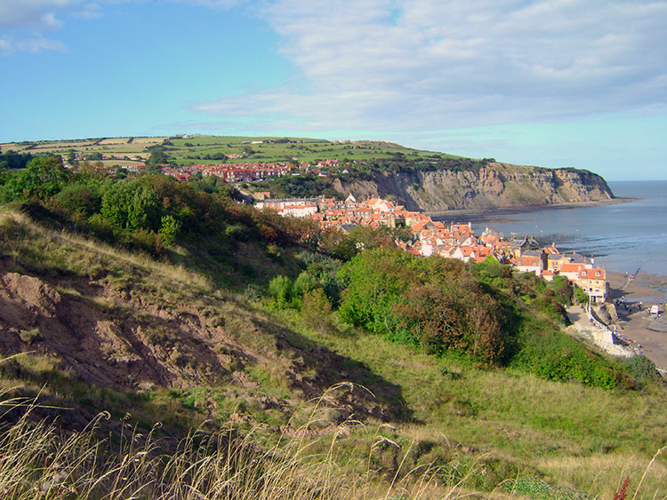 On the final cliff top section near Robin Hood's Bay