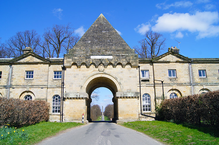 Gate House to access Castle Howard