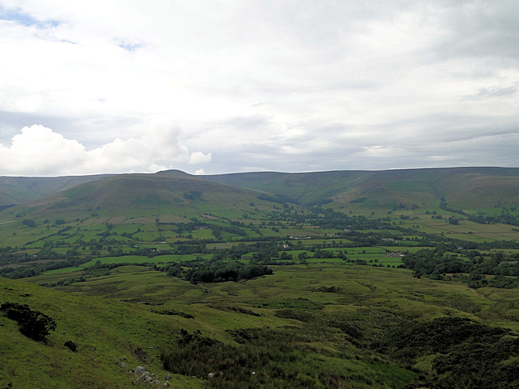 View to the Great Ridge from Upper Booth