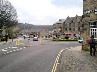 Bakewell, the starting point for the walk