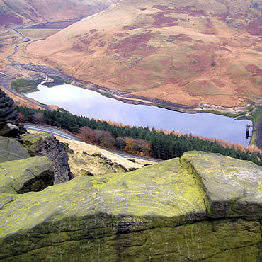 Yeomans Hey Reservoir from Alderman's Hill