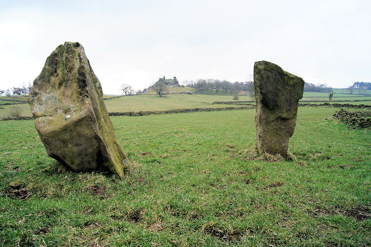 Stone Circle near Robin Hood's Stride