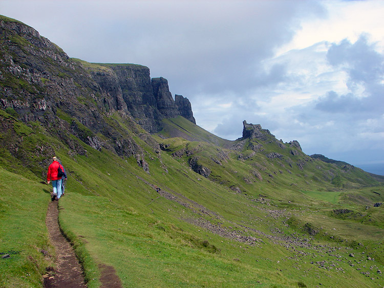 On the path to the Quiraing
