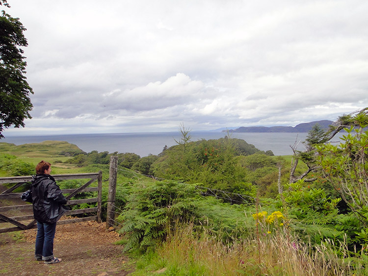 Looking to Ardnamurchan