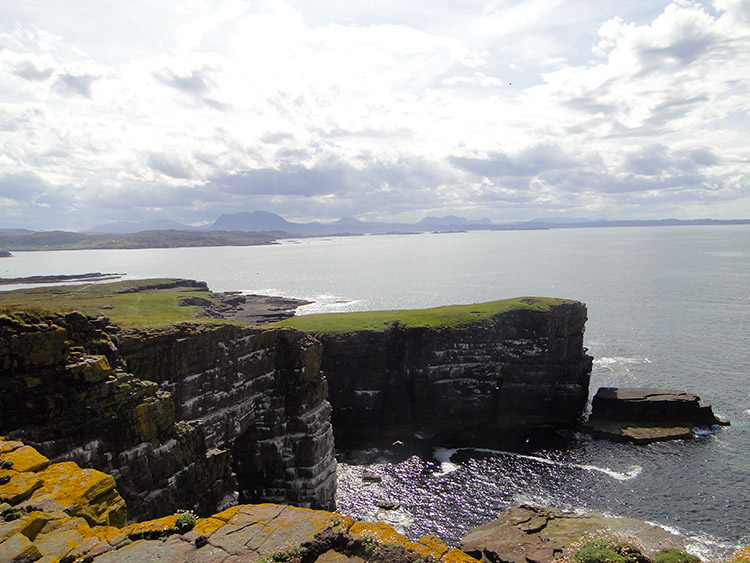 The views are fantastic all around Handa island