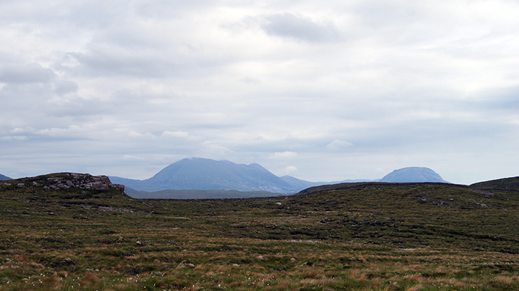 View to Foinavon and Arkle
