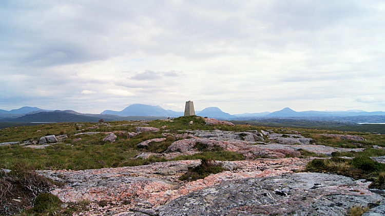 The mountains of Sutherland