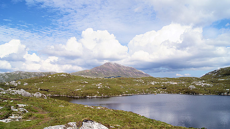The view to Canisp from Loch a Choire Dhuibh