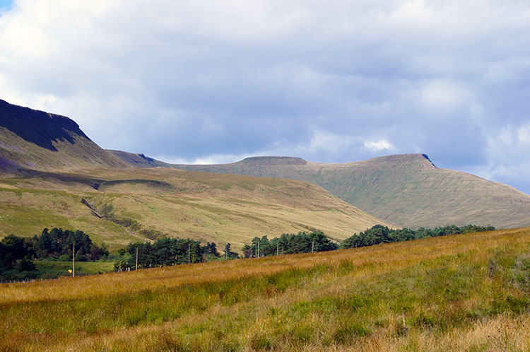 A final look back to Pen y Fan
