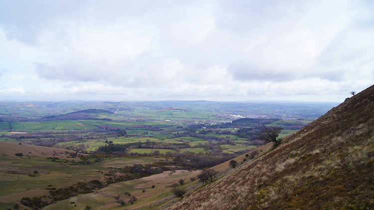 Brecon and the Tywi plain