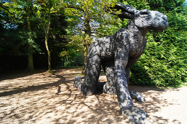 Hare by Sophie Ryder